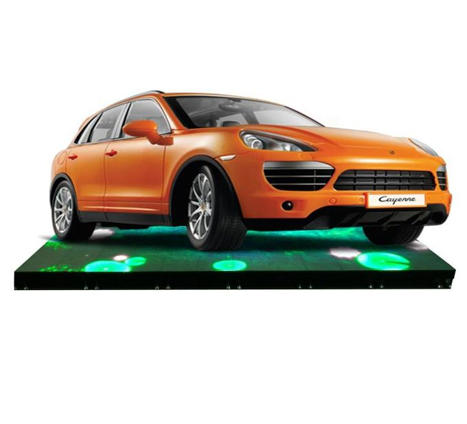 Non Skid Dance Floor Led Screen , Front Service Led Display Light Weigh P6.25