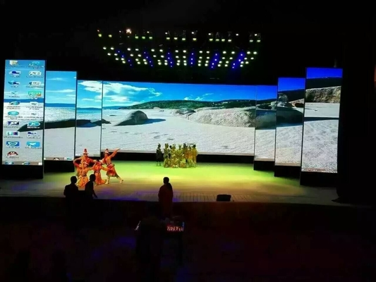 China Ultra - Light Full Color Stage Rental LED Display P3.91mm 1300cd/M2 Brightness factory