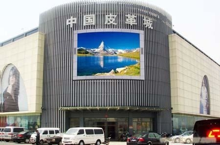 China RGB P6mm outdoor AVOE LED advertising screens IP65 Waterproof 7000cd/sqm factory