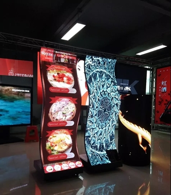 China Indoor Full Color Creative LED Display / Led Cube Display 500 X 500mm Cabinet Size factory