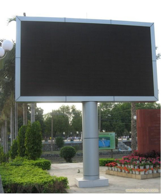 China 6500K-9500K Outdoor Smd Led Screen , Bus Station Waterproof Led Display factory