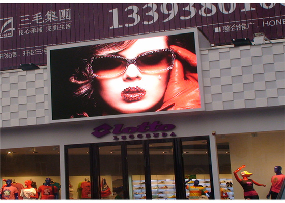 China Full Color Outdoor Fixed LED Display P10 for advertising Energy saving design factory