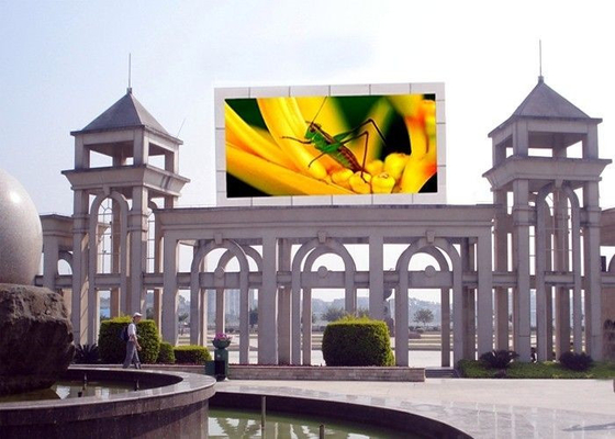 China Wide View Angle Outdoor Fixed LED Display For Commercial Center / Supermarkets factory