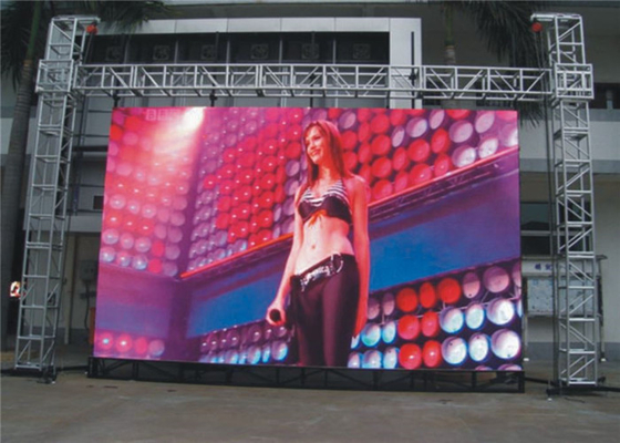 China P3.91 Outdoor Rental LED Display HD Large Led Advertising Screens For Commercial Center Constant Drive 1/16 Scan factory