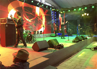 China 5~50m Distance Stage Background P4.81mm Outdoor rental LED Display Big Screen Good Viewing Angle factory