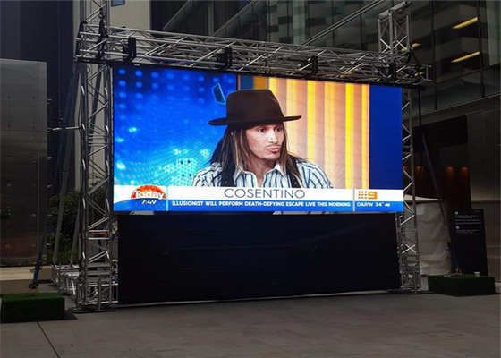 China P6.25mm Pixel Pitch Indoor Full Color Led Display High Grey Scale Level 150°/120° factory