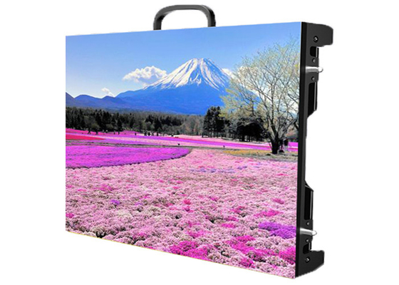 Super HD P2.976 Indoor Rental LED Display 3840Hz Refresh Frequency Die Casting Aluminum Cabinet