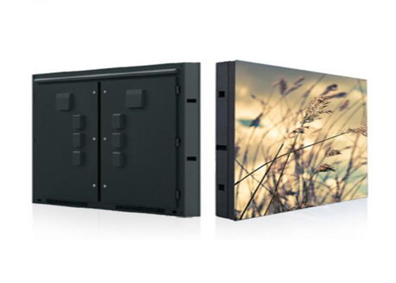 High Brightness  P6 Outdoor Led Screen , Led Street Display 192*192 Mm Module Size