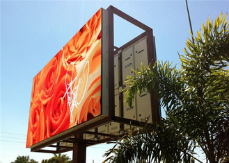 Clear Vivid Image P4mm LED Video Wall / Outdoor Wall Screens Anti - Thundering 256*128mm Module