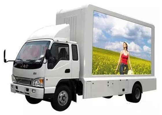 China Energy Saving  6.67mm Mobile Truck LED Display Mobile Tv Screen SMD2727 factory