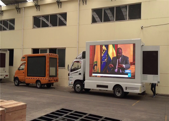 Outdoor 6.67mm Mobile Truck LED Display For Promotional Activities Waterproof