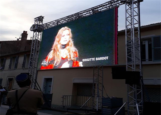 China Commercial Center Outdoor Rental LED Display For Advertising High Brightness factory