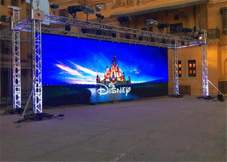 China IP65 Protection Outdoor Rental LED Display For Railway Stations / Airports factory