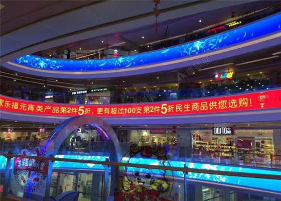 Unique Decorative LED Display / Front Service Led Display P8.928 With 250x250mm LED Module