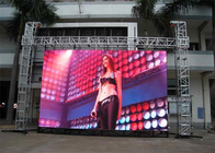 Waterproof P4.81mm 500*1000mm Cabinet Stage LED Screens For Events Aluminum Cabinet Material supplier