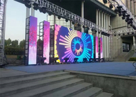 P4.81mm Stage Rental LED Display 500x1000mm Cabinet IP65/IP54 IP Rating 140°/140° Viewing Angle