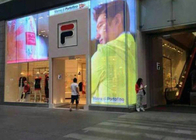 AVOE transparent video display 1000*500mm For Shopping Mall Super Bright