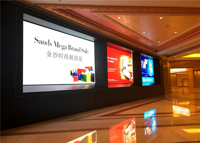 P1.25mm Indoor Fixed Super HD LED Display 3840Hz MBI5153/5353IC Ultra Slim Design Cabinet 400*300mm supplier
