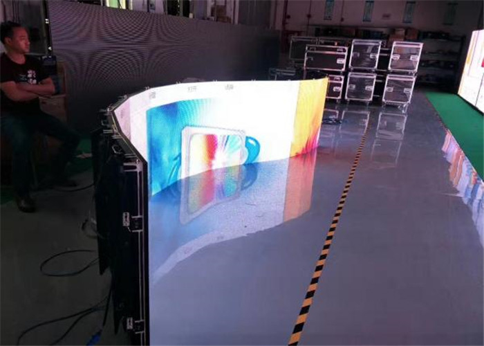 Front Maintenance Indoor Rental LED Screen P3.91mm Pixel Pitch SMD2121 1920Hz supplier