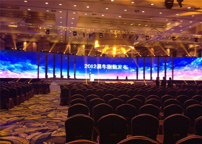 Fan Free Design P6.67mm Stage Rental LED Display High Definition Visual Effect supplier