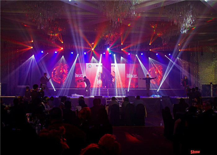 1R1G1B P5.33mm Stage Rental LED Display Seamless stitching 5m-100m Viewing Distance supplier