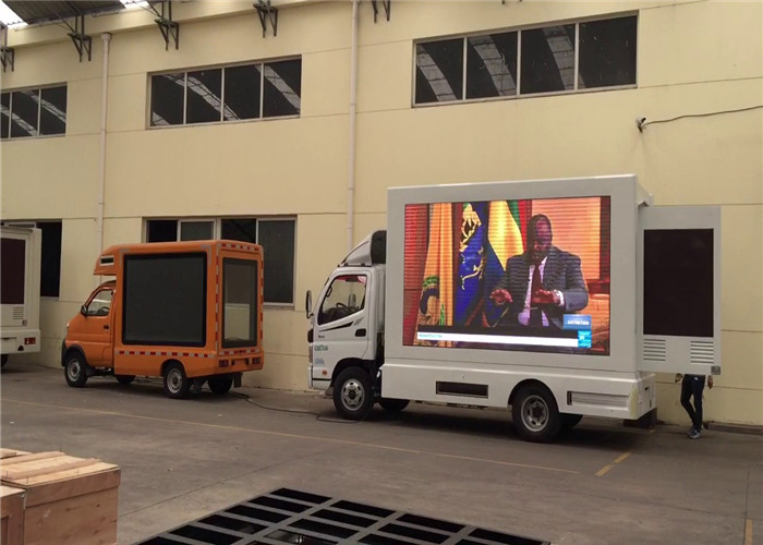 Outdoor P6.67mm Mobile Truck LED Display For Promotional Activities Waterproof supplier