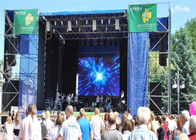 Lightweight Outdoor Full Color Led Display , Waterproof LED Screens For Events