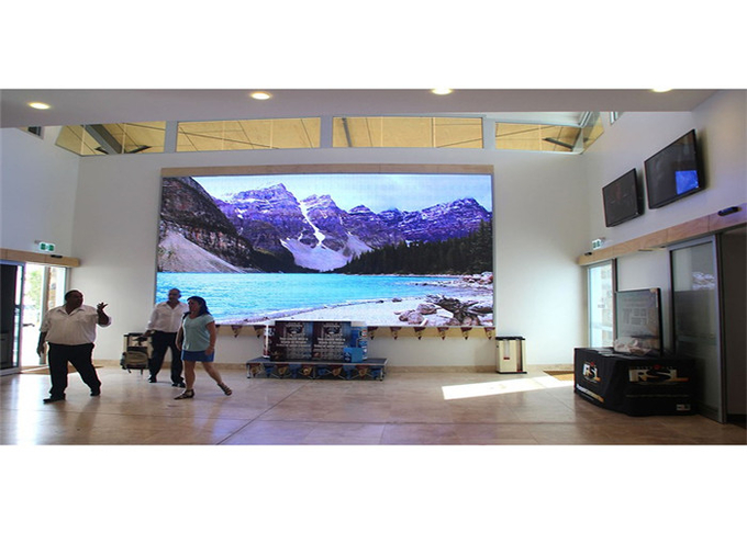 P1.25mm Indoor Fixed LED Display Ultra Slim Design IP40/IP21 Ingress Protection