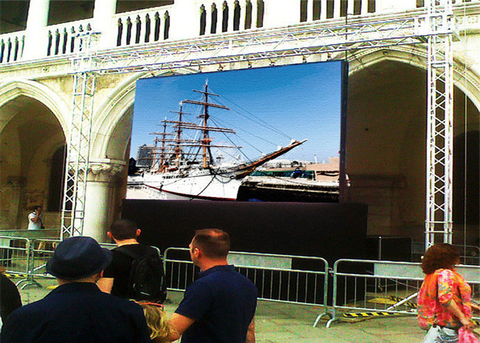 5~50m Distance Stage Background P4.81mm Outdoor rental LED Display Big Screen Good Viewing Angle 1