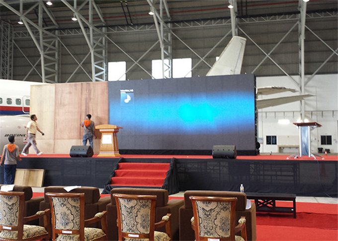 P2.976 Indoor Rental LED Display Screen 3840Hz Super HD4K For Stage Excellent Heat Dissipation Noiseless