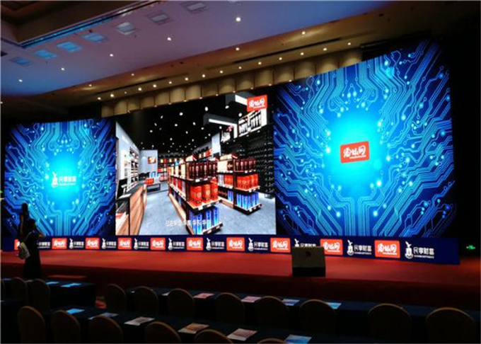 P3.91mm Refresh Rate 3840Hz Stage Rental LED Display IP65/IP54 IP Rating Easy To Install