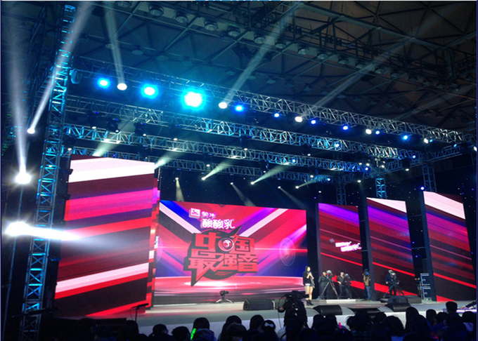 P3.91mm Event Show Stage Rental LED Display 500*1000mm Cabinet High Refresh Rate 3840Hz