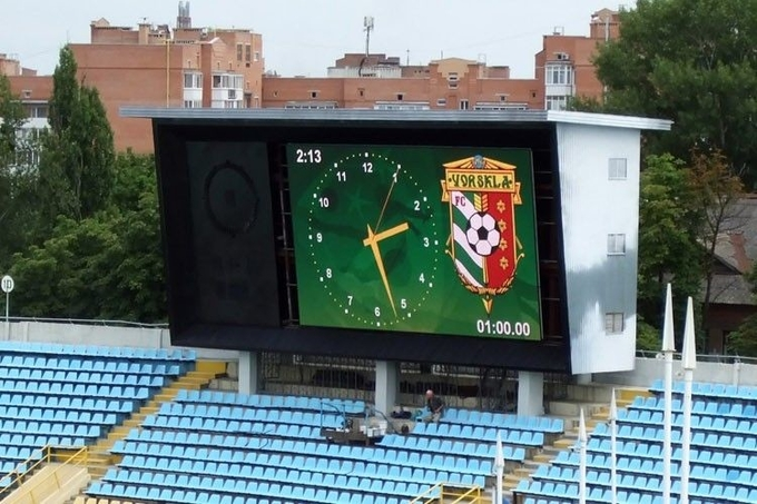 P6mm Stadium Outdoor LED Video Display board For Entertainment Venue 1/8  Scan 2