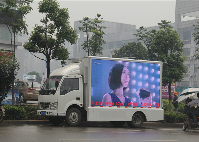 P16mm Mobile Truck LED Display For For Outdoor Events Static Constant Current Driving