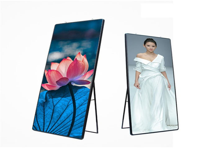 Hotel Restaurant Indoor advertising player P2mm Super HD LED Poster Display 640*1920mm 5