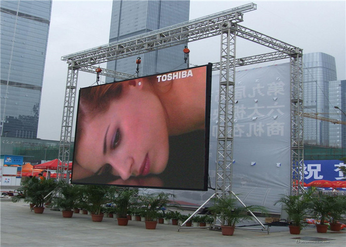 Front Service UHD4KI 3840Hz P4.81mm Outdoor Rental LED Screen ICN2153IC 6500cd Curve Cabinet 6