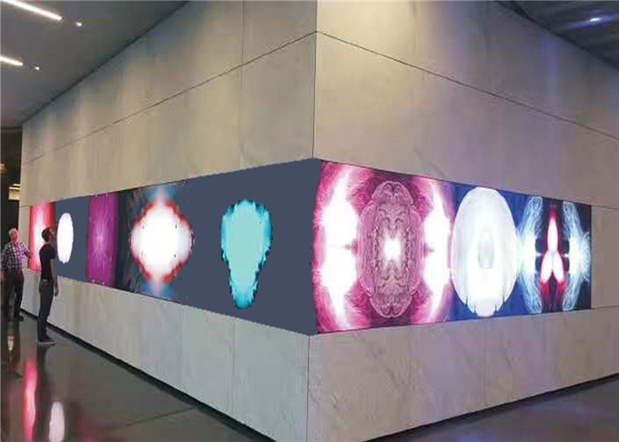 P8.928  Decorative LED Display / RGB LED Screen With Colored Mask Anti - Scratch